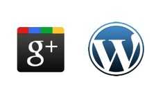 google-plus wordpress